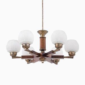 Polish Art Deco Ceiling Lamp, 1960s
