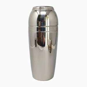 Space Age Cocktail Shaker in Stainless Steel from MEPRA, Italy, 1960s