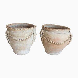 Terracotta Vases, Italy, Set of 2