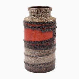 Westdeutsche Keramik Fat Lava 203/18 Vase von Scheurich, 1970er
