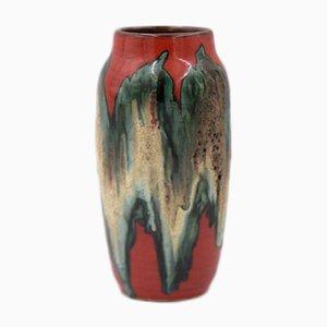 Vase Fat Lava 242-22 en Céramique de Scheurich, Allemagne de l'Ouest, 1960s