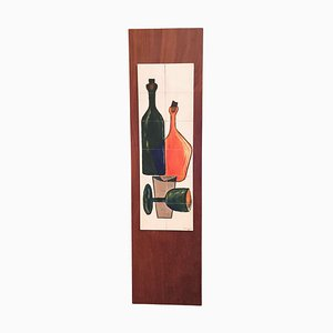 Still Life Painting on Wood by Mulders, 1960s