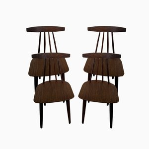 Dining Chairs by Frem Röjle for Poul Volther, 1961, Set of 4