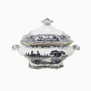 Antique Patterned Ceramic Bowl by Charles Pickman Jones