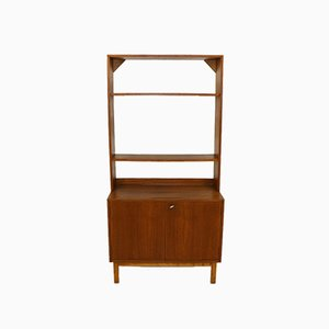 Teak and Beech Wall Unit, 1960s