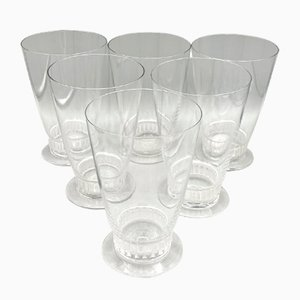 Tableware Set by R.Lalique for Lalique, 1930s, Set of 6