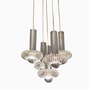 Spirale Suspension Lamp by Andrea Lazzari for Morosini, 1970s