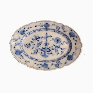 Large Antique Porcelain Floor Plate from Rauenstein
