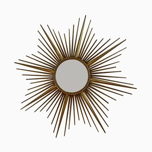 Sun Mirror by Gilbert Poillerat for Chaty Vallauris , 1960s