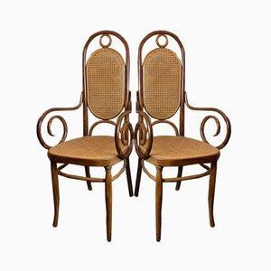 No. 17 Chairs from Thonet, Set of 2
