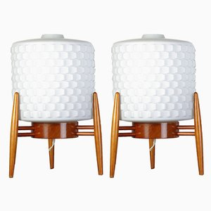 Mid-Century Space Age Table Lamps for ULUV, 1960s, Set of 2