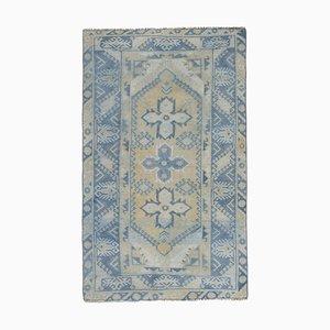 Turkish Tan Oushak Carpet, 1970s
