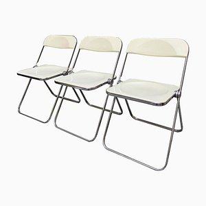 Pila Stühle von Giancarlo Piretti für Castelli, 3er Set