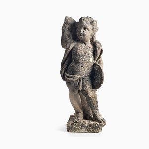 Skulptur eines Cement Musician