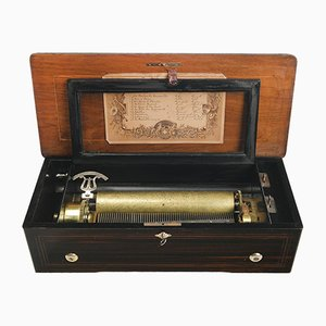 19th Century Cylinder Music Box