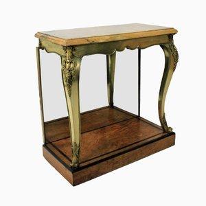 Table Console Antique en Bronze Doré, Angleterre