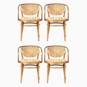 Bentwood Dining Chairs from Thonet, 1960s, Set of 4