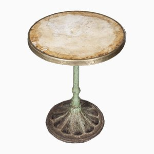 19th Century French Small Cast Iron Table