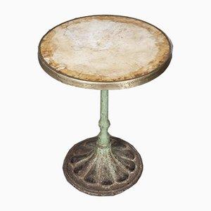Kleiner Französischer Tisch aus Schmiedeeisen, 19. Jh