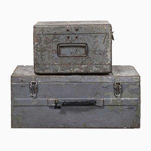 Boîtes d'Équipement Industriel Modèle 256.5, Russie, 1960s, Set de 2