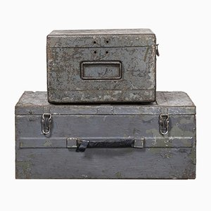 Russische Modell 256.5 Industrie Geräteboxen, 1960er, 2er Set