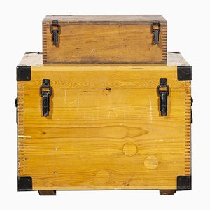 Russian Model 256.2 Industrial Equipment Boxes, 1960s, Set of 2