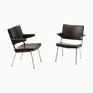 Gispen Armchairs by Andre Cordemeijer, Set of 2
