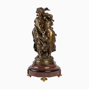 Bronze Statue von Moreau, 19. Jahrhundert
