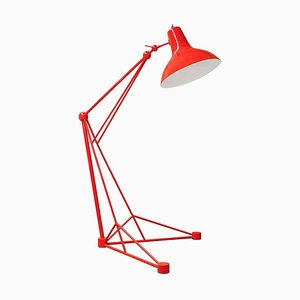 Lámpara de pie de aluminio