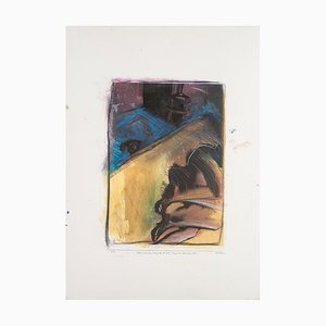 Sergio Barletta - Movement - Original Mixed Media - 1994