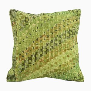 Vintage Green Pillow Cover