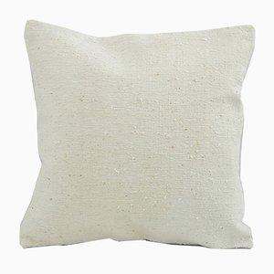Vintage White Pillow Cover