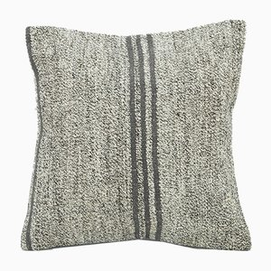 Vintage Grey Pillow Cover