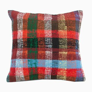 Vintage Red Pillow Cover
