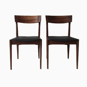Mid-Century Rosewood Dining Chairs by Erik Buch, Set of 2