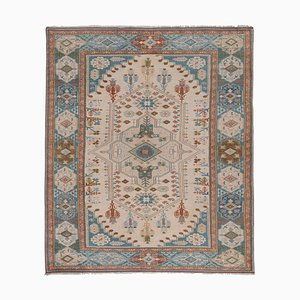 Vintage Tan Turkish Kars Rug