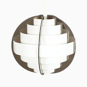 Lampada da soffitto di Flemming Brylle & Preben Jacobsen, anni '60