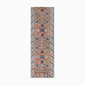Türkischer Vintage Kars Teppich Läufer