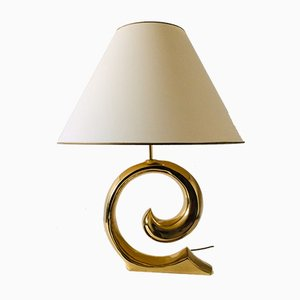 Large Brass Table Lamp from Regina, 1970s
