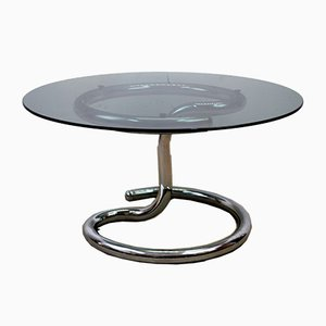 Italian Cobra Coffee Table by Giotto Stoppino, 1970s