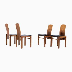 Mid-Century Lounge Chairs by Carlo Scarpa, Set of 4