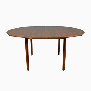 Teak Extendable Dining Table, Italy, 1960s