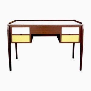 Walnuss und Laminat Schreibtisch von Gio Ponti, 1950er