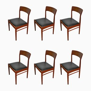Mid-Century Dining Chairs for KS Møbler, 1960s, Set of 6