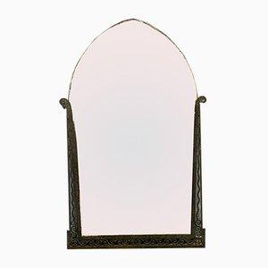 Art Deco Edgar Brandt Style Mirror, 1920s