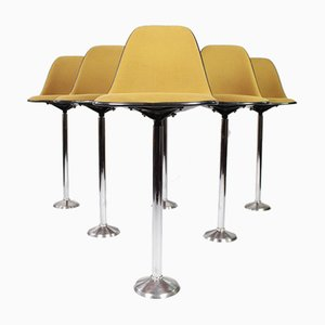 La Fonda Stools by Charles & Ray Eames for Herman Miller, 1960s, Set of 6