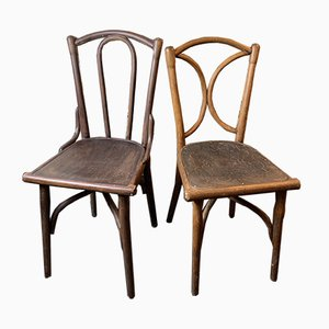Antique Dining Chairs by Michael Thonet, 1900s, Set of 2