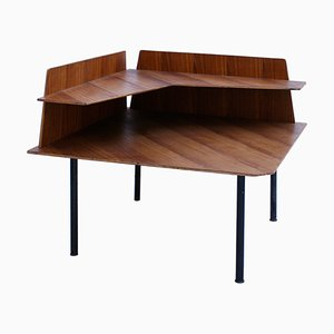 Mid-Century Rosewood Side Table Attributed to Gio Ponti, Italy