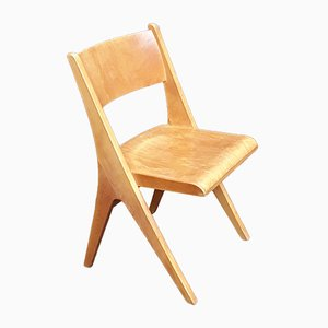 Light Beechwood Side Chair from Casala, 1960s