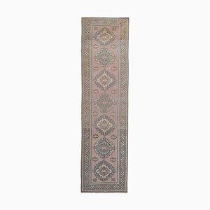 Vintage Turkish Geometric Wool Carpet, 1970s